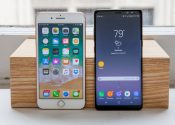 IPhone 8 si Samsung Galaxy Note 8